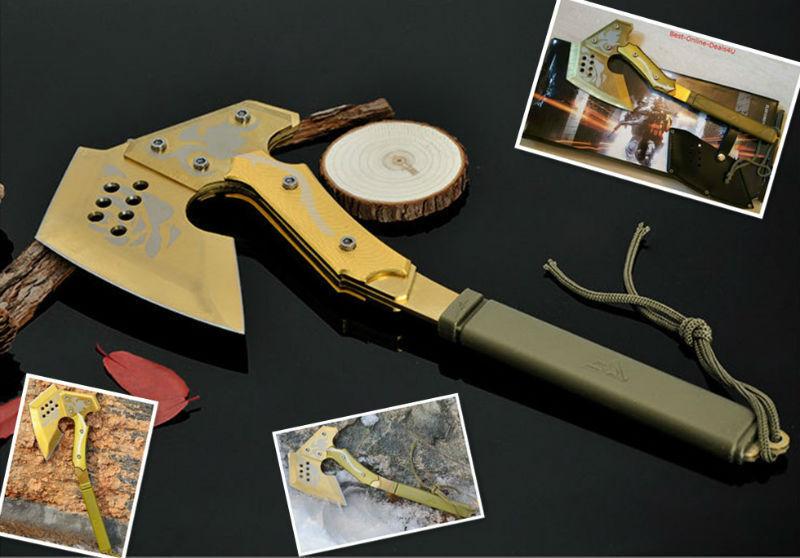 s l1600 - CAZA CAMPING Hacha, SUPERVIVENCIA Táctico Fire ( fuego) Hacha MANUAL tool-a26