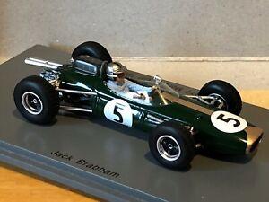Spark-1-43-Jack-Brabham-Brabham-BT7-Monaco-GP-F1-1964-S5251-resin-new