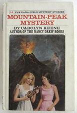 Dana Girls #16 MOUNTAIN PEAK MYSTERY Carolyn Keene Nancy Drew Author 1st