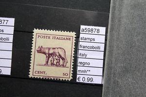 FRANCOBOLLI-ITALIA-REGNO-NUOVI-STAMPS-ITALY-MNH-A59878