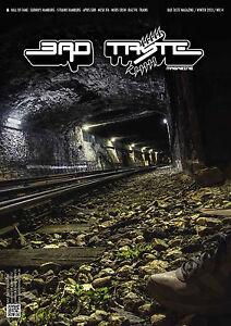 BAD-TASTE-Question-14-Allemand-Graffiti-Art-Magazine-couverture-cartonnee