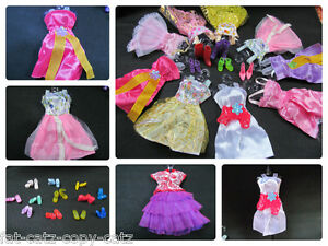 1-x-barbie-sindy-poupee-fete-courte-fee-robe-blouse-amp-1-paire-chaussures-bottes-Ukseller