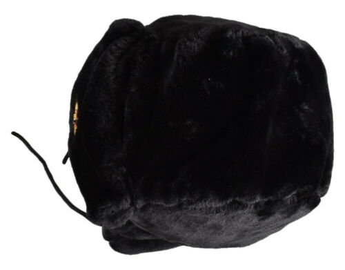 Russian Trapper Hat Soviet Badge Military Ushanka Cossack Winter Unisex Cap New