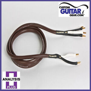 Analysis-Plus-Chocolate-Theater-4-Wire-Cable-Bi-Wire-Configuration-Length-6ft