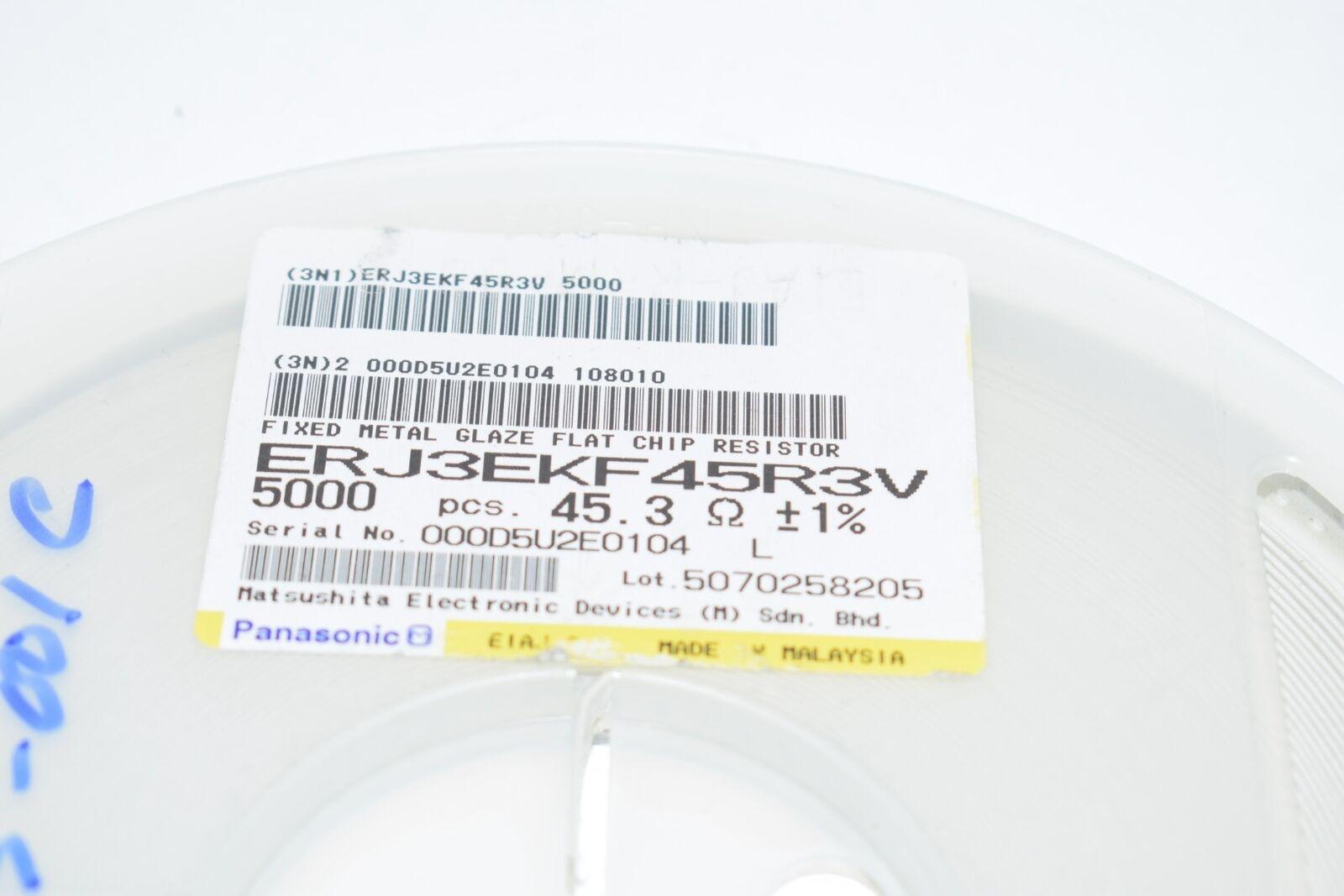 ERJ-3EKF1604V RES SMD 1.6M OHM 1/% 1//10W 0603 Pack of 5000