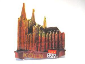 Brillant Cologne Cologne Dom 3d Poly Frigo Aimant Souvenir Germany (115).-afficher Le Titre D'origine