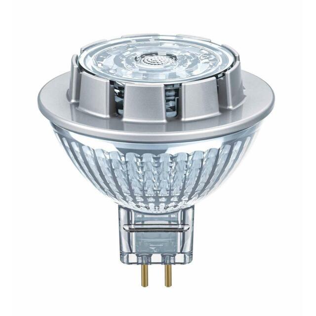 OSRAM LED Superstar Vetro MR16 GU5.3 7,8W=50W 621lm Neutro Bianco 4000K Dimmbar