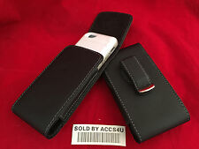 VERTICAL LEATHER HOLSTER 360 BELT CLIP POUCH FOR IPHONE 5 5S 5C EXTENDED BATTERY