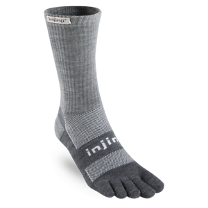 Injinji Outdoor Midweight Crew NuWool Toe Socks