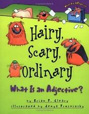 Hairy, Scary, Ordinary : What Is an Adjective? by Brian P. Cleary (2000,...
