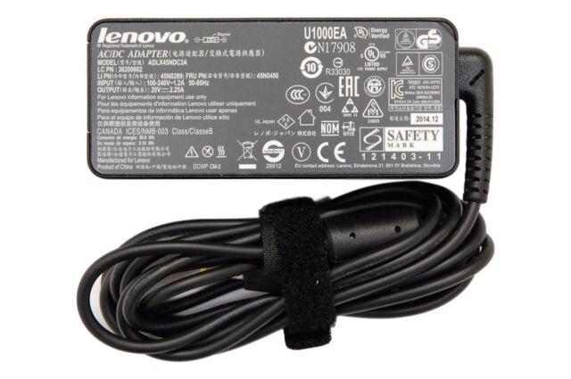 New Genuine Lenovo ThinkPad Yoga 11e 14 260 460 AC Power Adapter Charger 20V 45W