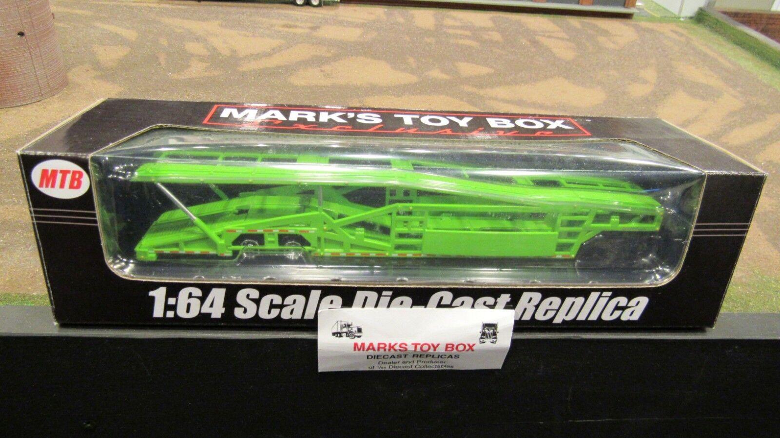 MTB-1634 verde Lima 5 coche Transportador De Transporte Remolque Transportador 1 64 Speccast