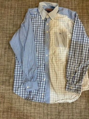 Vineyard Vines Tucker Shirt Multi Blue Checkered B