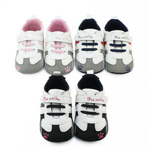 Toddler-Infant-Baby-Boys-Girls-Crib-Prewalker-Soft-Sole-Anti-slip-Sneakers-Shoes