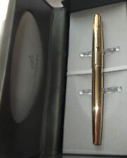 MINT PARKER 61 DOUBLE JEWEL INSIGNIA FINE GRADE GOLD NIB CAPILLARY FILLER & BOX