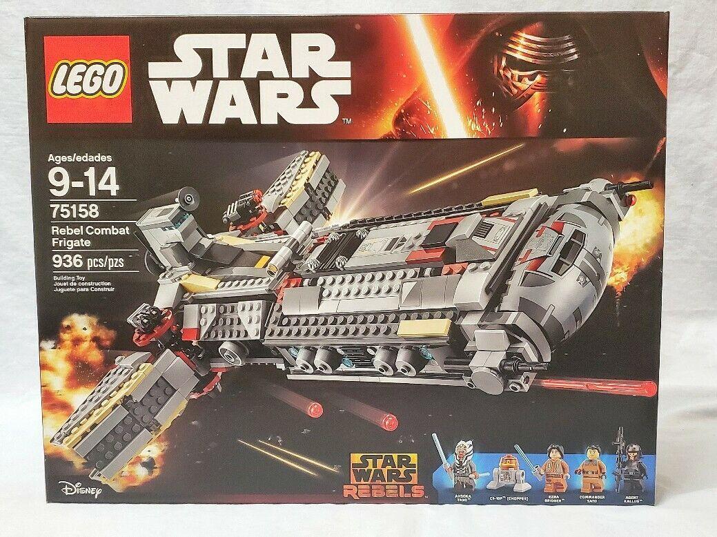 nuevo con embalaje original Lego ® Star Wars ™ 75158 Rebel Combat frigate ™