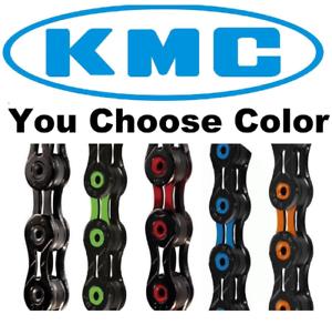 KMC X10SL DLC Colors Surtidos 10 Velocidades Bicicleta Cadena Ajuste SRAM Shimano Road CX