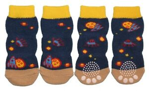 Non-Slip-Dog-Socks-Blue-Space-Small-to-XL-10kg-to-60kg