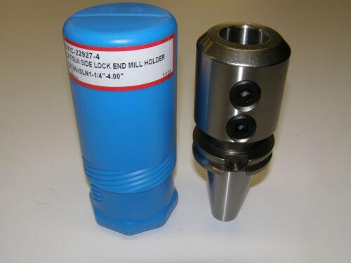 """22923 TECHNIKS PRECISION CAT 40 7//8/"""" END MILL HOLDER TOOL 3.5/"""" CV40 CAT40"""