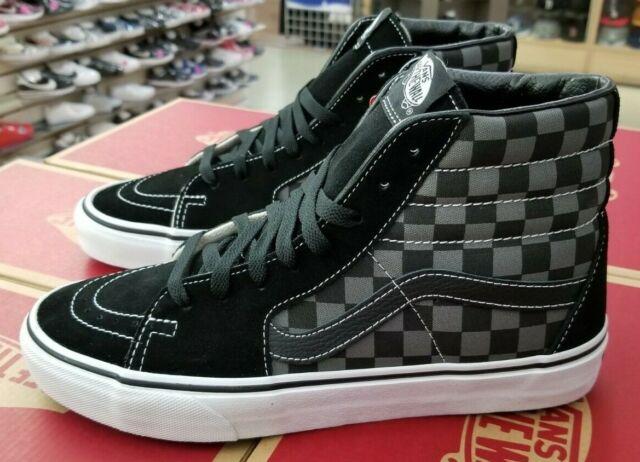 vans sk8 hi black size 5