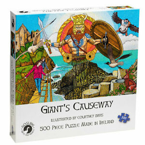 Giant-039-s-Causeway-North-Antrim-Coast-500-Pieces-Jigsaw-Puzzle-Made-in-Ireland-New