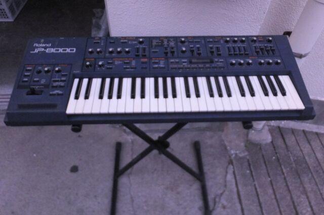 USED ROLAND JP-8000 Synthesizer / Keyboard world shipment U095 180608