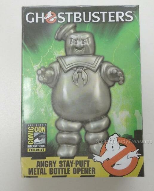 """GHOSTBUSTERS SDCC EXCLUSIVE 4"""" Angry Stay Puft Marshmallow Man BOTTLE OPENER"""