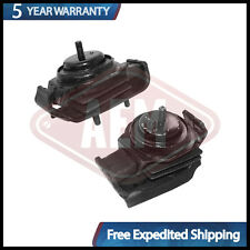 Engine Motor Mounts Front Right  and  Left Set Pair 2.4 L For Nissan 240SX