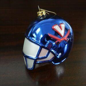 UVA University of Virginia Football Helmet Christmas Ornament Cavaliers