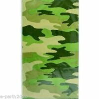 Military Camouflage Plastic Table Cover Birthday Party Supplies Decorations