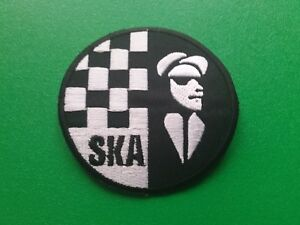IRON ON PATCH: MOD SCOOTER SKA NORTHERN SOUL SEW DETAILS TO FOLLOW