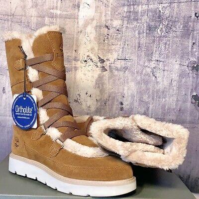 NEW Timberland Women's Kenniston Muk Tall Winter Boot Brown Size 9M | eBay