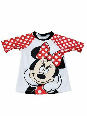 Toddler Baby Kids Girls Minnie Mouse Bikini Skirt Summer Swimwear Swimsuit Cap