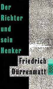 Der-Richter-und-sein-Henker-von-Duerrenmatt-Friedrich-Buch-Zustand-gut
