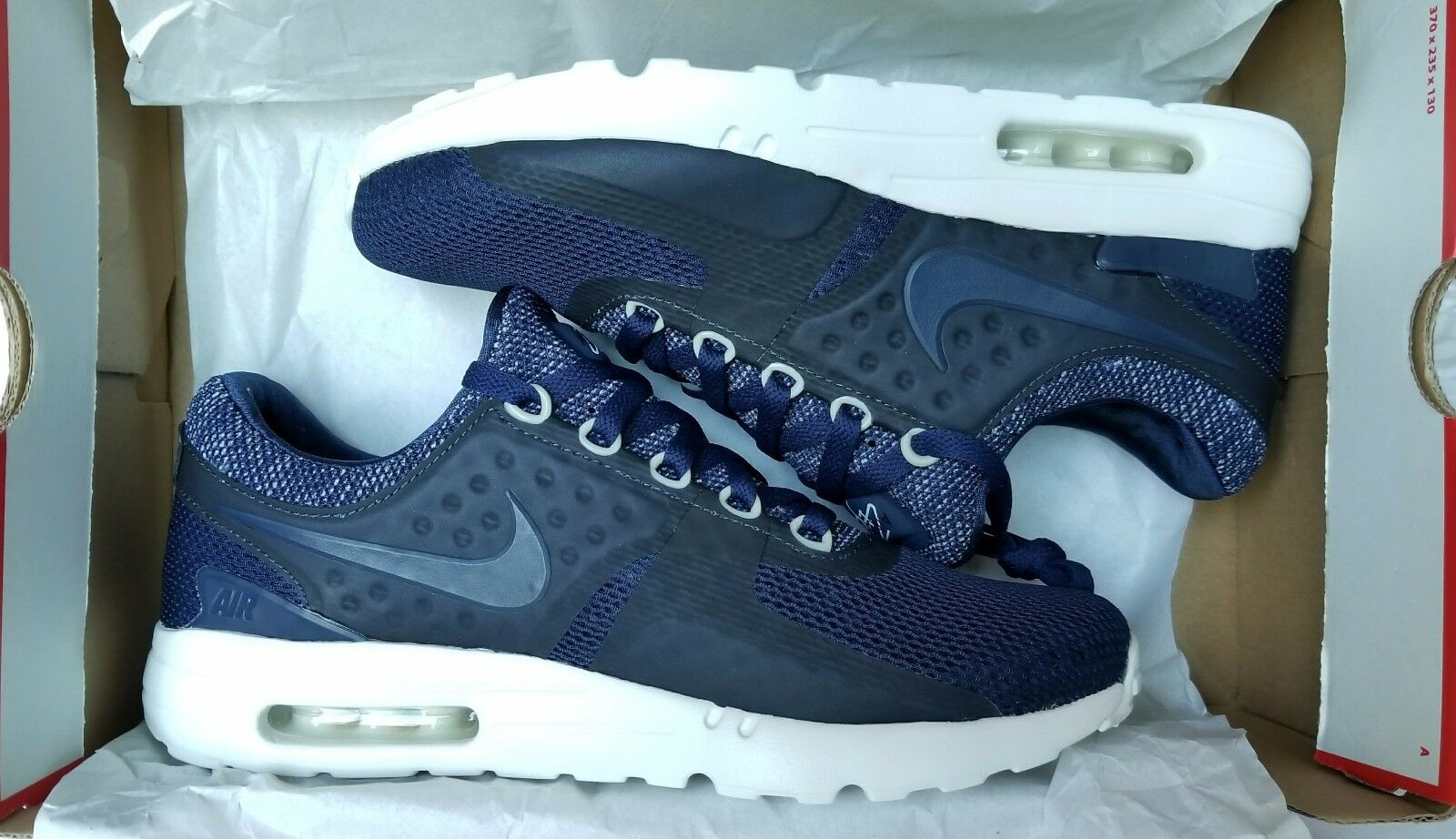 Price reduction NEW MEN'S NIKE AIR MAX ZERO BR BREEZE MIDNIGHT NAVY Comfortable  Great discount