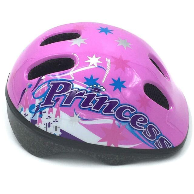 Pink and black  Toddler Girl Bicycle Helmet Small 48-52cm