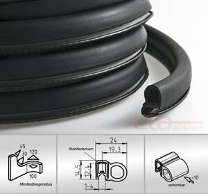 1 m dichtungsprofil dichtprofil kantenschutz epdm pvc schwarz kb 1 4 mm 1c11 19 ebay. Black Bedroom Furniture Sets. Home Design Ideas