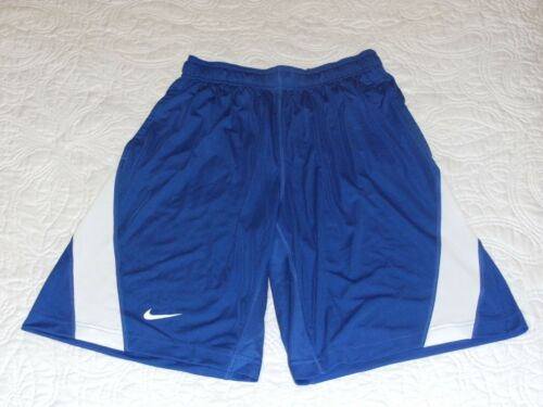 Nike Dri Fit Speed Fly Royal And White Athletic Shorts