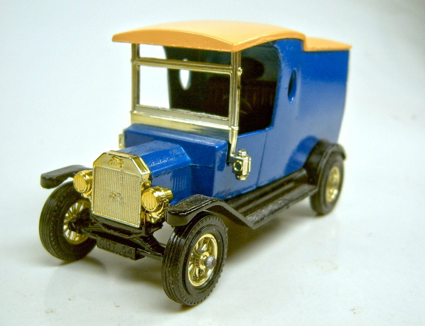 MATCHBOX MODELS OF YESTERYEAR y-12c FORD MODEL  T  stupito farbversuchsmodell