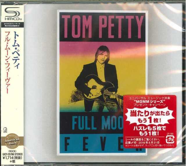 TOM PETTY-FULL MOON FEVER-JAPAN SHM-CD D50