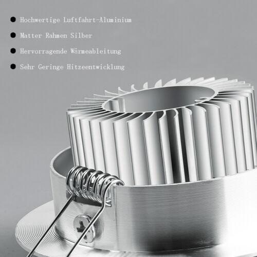 LED Einbaustrahler Einbauspot Dimmbar Deckenleuchte Spot 12V Kaltweiß Warmweiß