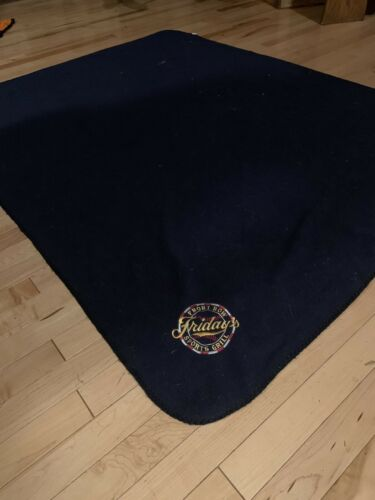 Miller Park Blanket NEW Navy Blue Milwaukee Brewers Fridays Front Row