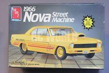 Vintage AMT Model Car 1966 CHEVY NOVA STREET MACHINE 1/25 Model Kit  *NEW*  #Q5