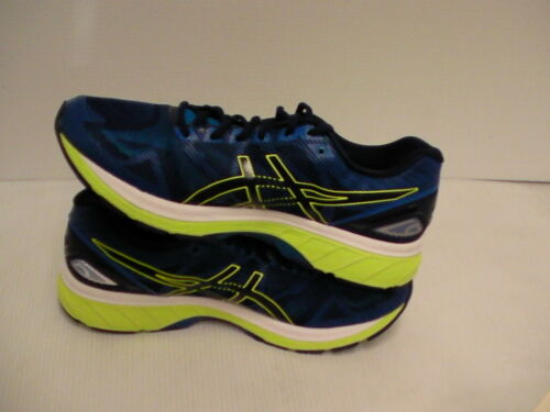 Gel hombre Blue Yellow Zapatillas para Asics Tamaño 9 Us 19 Nimbus Indigo de Safety running qwxFt0aZ