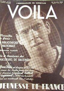 Reports-Photos-Voila-1938-Tennis-Yvon-Petra-Hunting-Whale-Cinema-Stowaway