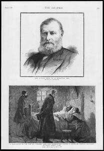 1886-Antique-Print-IRELAND-County-Clare-Portraits-Forster-Irish-Chief-171