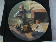 Knowles 1984 The Banjo Player Collectors Plate