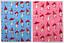 Toadstools Print Cotton Dress Fabric EM-064-Pink-M