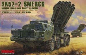 Meng Model 1/35 Russe 9a52-2 Smearch Lance Roquette Kit Modélisme Mgkss9
