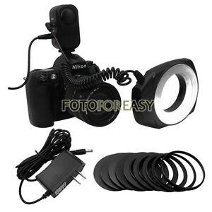 Macro O Ring LED Light & Ring for Canon Nikon Pentax Sigma Lens DSLR SLR Camera